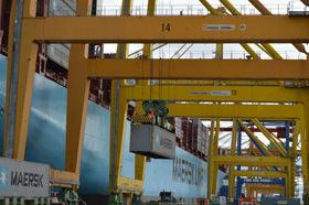 Valenciaport creció más de un 13% en el tráfico de contenedores de import/export en el primer cuatrimestre