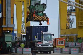Valenciaport sigue liderando el tráfico nacional de TEUs